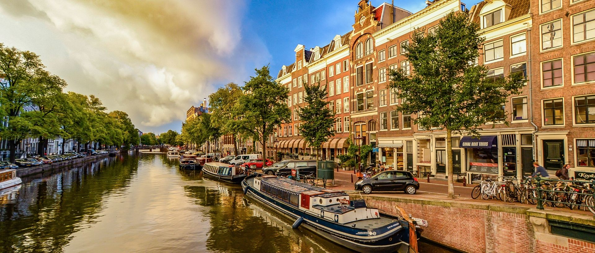 City of Amsterdam View