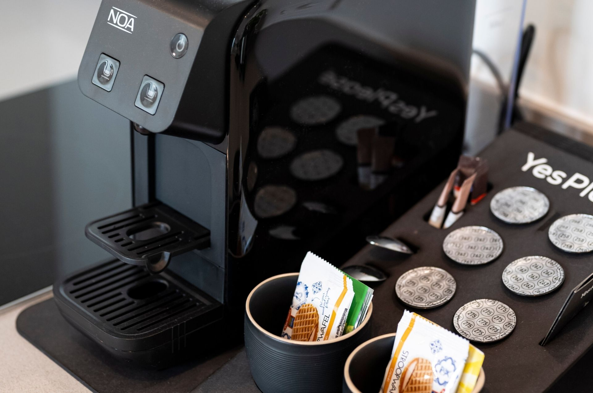 PREMIER SUITES PLUS Amsterdam Superior Appartement Koffiemachine